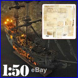 150 The black Pearl Ship DIY Model Kits Golden 31 inch For Gifts Collection
