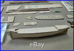 1950s Curry Sark Wood Ship Model Kit MIB New Old Stock Sail Clipper Made in USA