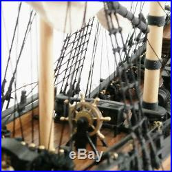 196 Scale 3D Wooden Sailboat Ship Boat Model Kit Home Decor DIY Toy Gift US