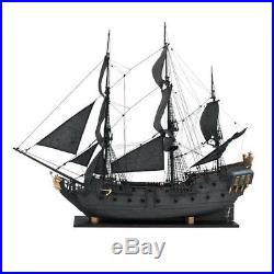1 96 Scale 3D Wooden Sailboat Ship Kit Home Model Decoration Boat Xmas DIY Gift