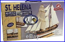 80620 Constructo 185 Scale St. Helena Wooden Model Ship Kit New & Boxed
