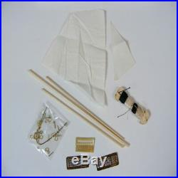 Assembling Building Kits Ship Model Wooden Sailboat colection Scale 1/35