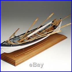 Beautiful, Detailed Wooden Model Ship Kit by Amati New Bedford Whaleboat