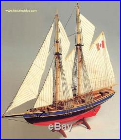 Beautiful, brand new Constructo wooden model ship kit the Bluenose II