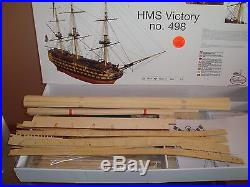 Beautiful, brand new wooden model ship kit by Billing Boats the HMS Victory