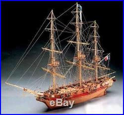 Beautiful, brand new wooden model ship kit by Mantua the Astrolabe (773)