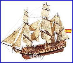 Beautiful, brand new wooden model ship kit by OcCre HMS Diana frigate