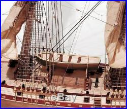 Beautiful, brand new wooden model ship kit by OcCre the Corsair