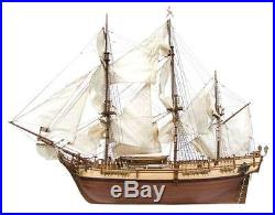 Beautiful, brand new wooden model ship kit by OcCre the HMS Bounty