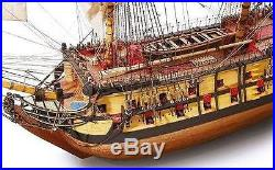 Beautiful, brand new wooden model ship kit by OcCre the Nuestra Senora