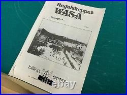 Billings Wasa 1628 Wooden Ship Model, Sweden, Makes Awesome Ship