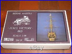 Classic, Detailed Wooden Model Ship Kit by Corel HMS Victory Cross-section