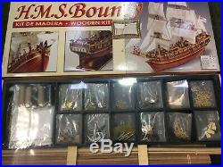 Constructo 1/50 scale HMS Bounty Wooden model ship kit