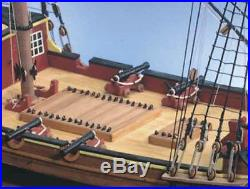 Exquisite, New Wooden Model Ship Kit by Caldercraft the HM Brig Supply