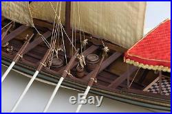 Exquisite, New Wooden Model Ship Kit by Disar the Salvador Del Mundo Felucca