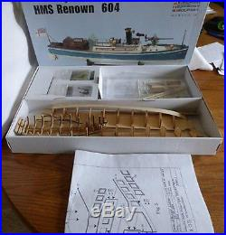 Genuine, finely crafted wooden model ship kit by Billing Boats the Renown
