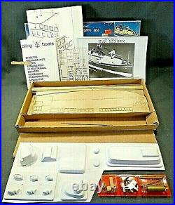 Genuine wooden model ship kit by Billing Boats the Renown 604
