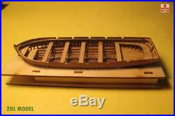 HMS Surprise Scale 1/75 925mm 36.4'' Wooden Model Ship Kit with 4 lifeboat