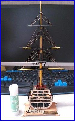 Hobby ship model kits scale 1/200 HMS Victory mini Section ship wooden model