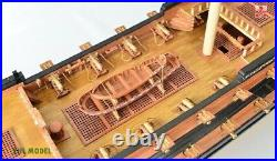 INGERMANLAND 1715 wooden Model Ship Kits Scale 1/50 1304mm 51.3
