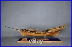 Le Requin Full Rib Wood Ship Model Kit Scale 1/48 47 High End Product Boxwood