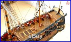 Model Ship Kits Scale 1/96 650mm 25.5 INGERMANLAND 1715 diy product