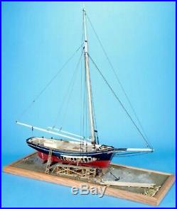 Model Shipways EMMA C. BERRY LOBSTER SMACK 132 SCALE Wooden Ship Model