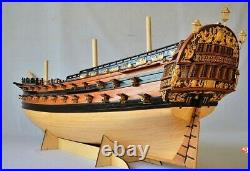 NIDALE Model NEW version Scale 1/50 classic Russian wooden ship model Kit