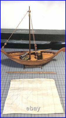 ONE PIECE Luffys Wooden boat model ship kit