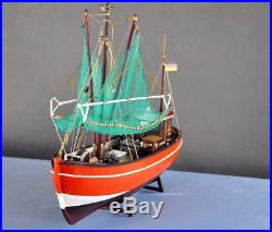 PELLWORM Modern Crab Fishing Boat Scale 1/48 Wood Model Ship Kit
