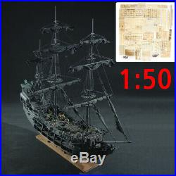 REVELL The Black Pearl Model Wooden Ship Boat Kits 150 Decoration Collector Set