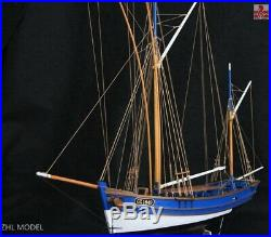 San Gilthas France classic fish boat Scale 1/45 26 Wooden Model Ship kits