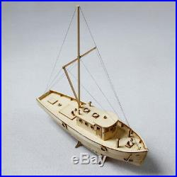 Ship Assembly Model DIY Kits Wooden Sailing Boat 150 Scale Decoration Toy Gift
