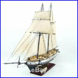 Ship Assembly Sailing Boat Model Classical Wooden Scale Wood Diy Kits Decoration