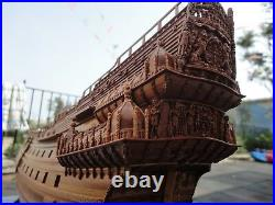 Swedish Warship Vasa Scale 1/48 Carving Pieces Pear wood wooden model ship kits