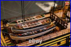 The HMS Victory Scale 1/72 L 54.5 wooden model ship kit