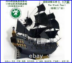 The black Pearl 2018 Premium wood model ship building kit 135 with tools glue