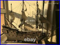 The black Pearl Golden version 2021 wood model ship kit 31 inch