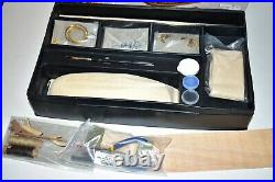 VINTAGE H. M. S Bounty Wooden Kit Constructo Ship wood model 15