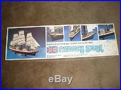 Vintage Aeropiccola Cutty Sark Wood Ship Model Kit, Unbuilt 1/75 scale for part