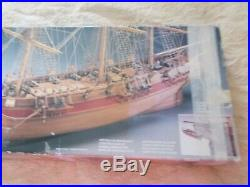 Vintage Astrolabe 1812 Wooden Ship Kit Mantua Model Made in Italy