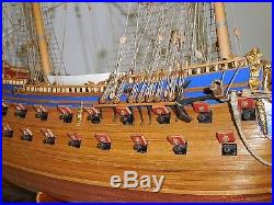 WASA 37 inch Built assembled from COREL KIT wooden model ship