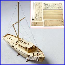 Wooden Model DIY Kits Educational Ship Toy Home Decor