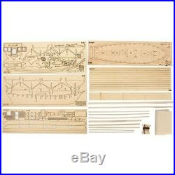 Wooden Sailboat Sailing Ship Kits Home DIY Model Decor Boat Gifts Toy for Kids
