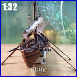 Wooden Ship Model Kit 132 Scale Whaling Ship Boat Model Building DIY Assembly