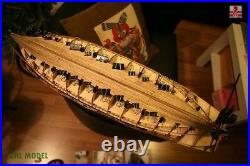 ZHL REQUIN 1750 scale 1/48 L 47.2 wooden ship model kits Resin carving version